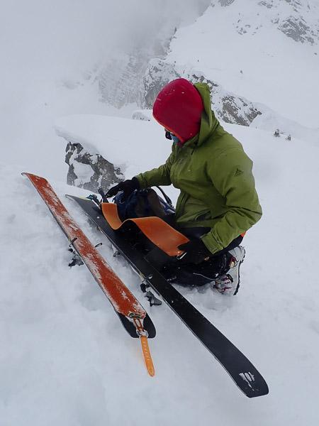 alpine skills ski touring courses