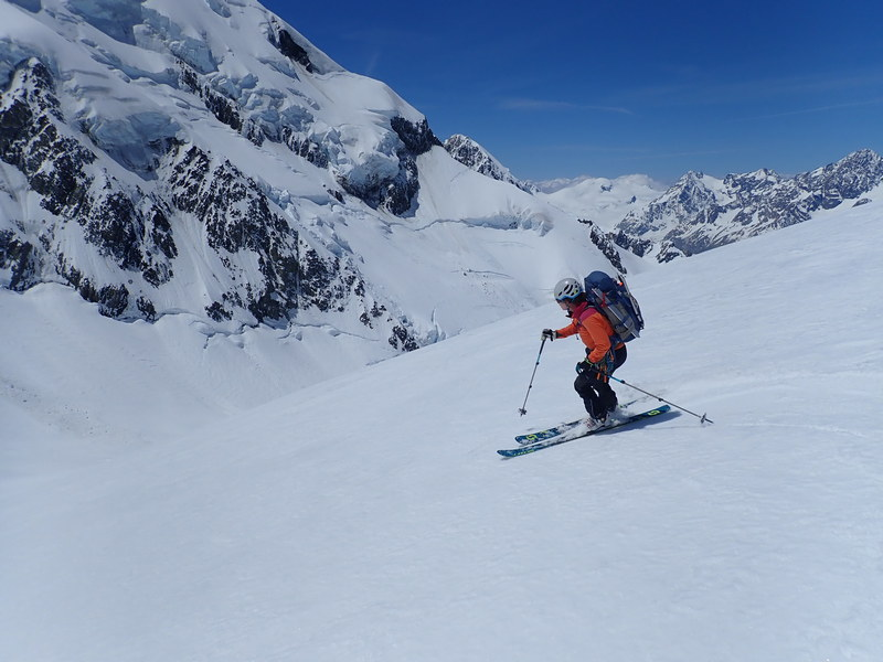Ski Mountaineering, Aoraki/Mount Cook National Park, New Zealand