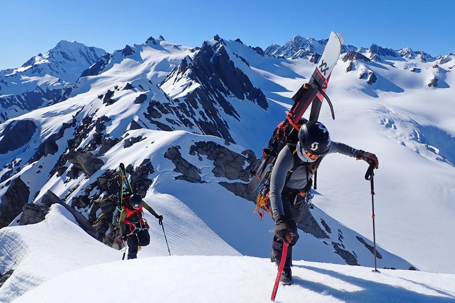 Ski Mounteineering Tai Poutini Westland National Park