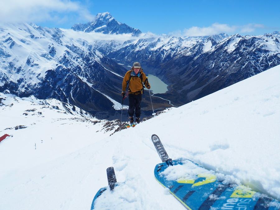 Ski Touring Aoraki Mt Cook Nationalpark