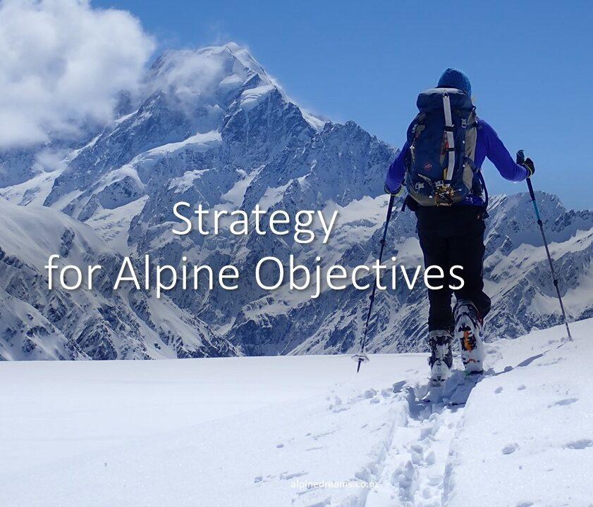 Ski Touring Alpine Strategy