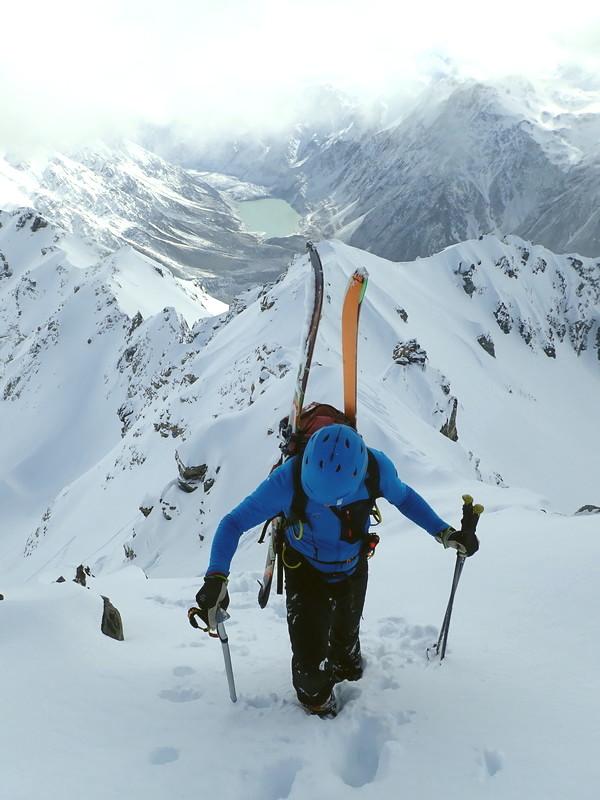 Ski Mountaineering Aoraki Mount Cook National Park